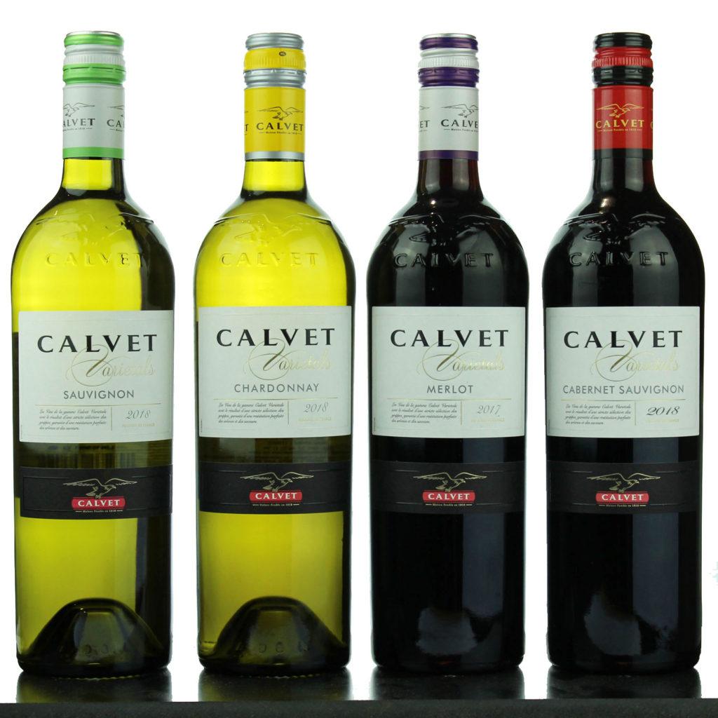 Degustation Calvet Varietals Pays d'Oc - Faustine Wine